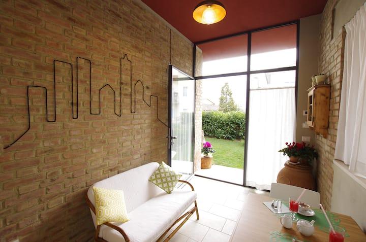 Appartamento Mina con giardino privato max 4 pers.
