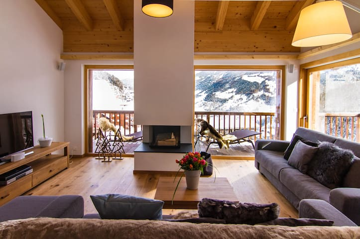 Chalet les Rahâs by Mrs Miggins, Duplex 5 bedroom - Grimentz - Chalet