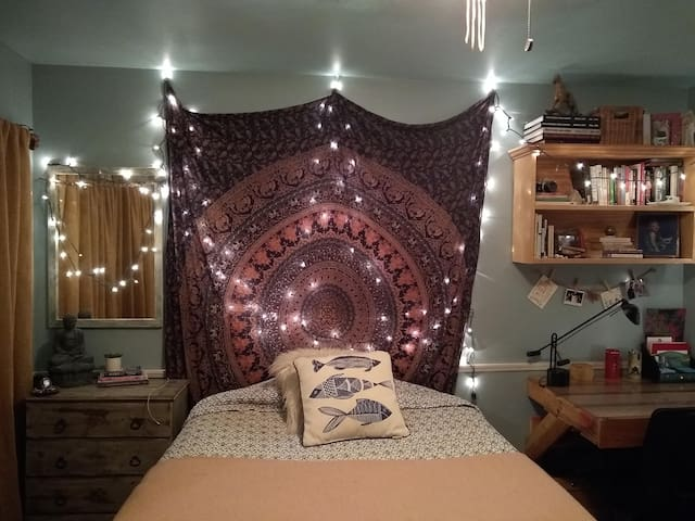 Boho Zen Room at Moon Dance Ranch