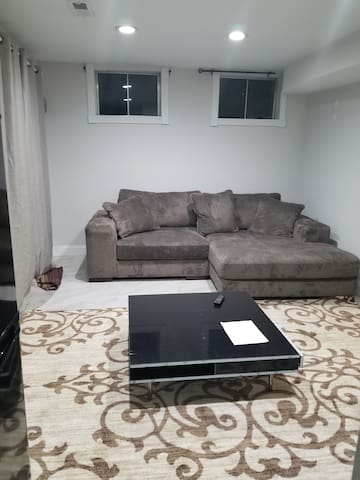 Excellent  basement with  guess accessibility