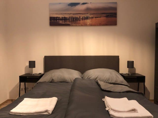 NEW MODERN room in the city center