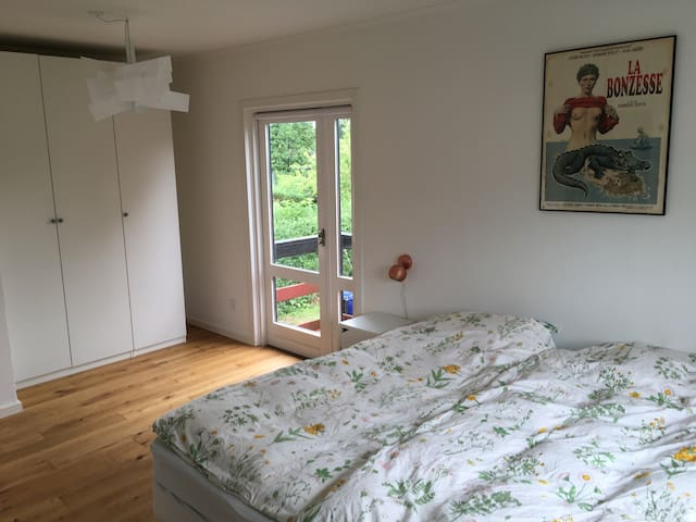 Private room, 1km from center - Roskilde - Rumah
