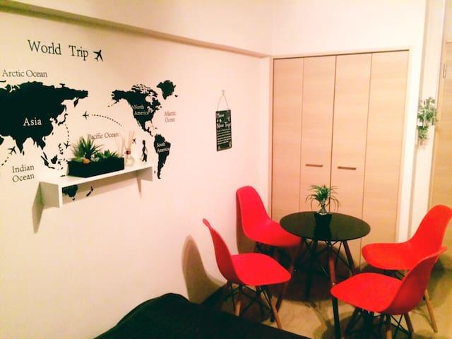 2room☆Walk3min to Kuromon☆Namba☆New - 大阪市