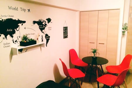 2room☆Walk3min to Kuromon☆Namba☆New - 大阪市 - Appartement