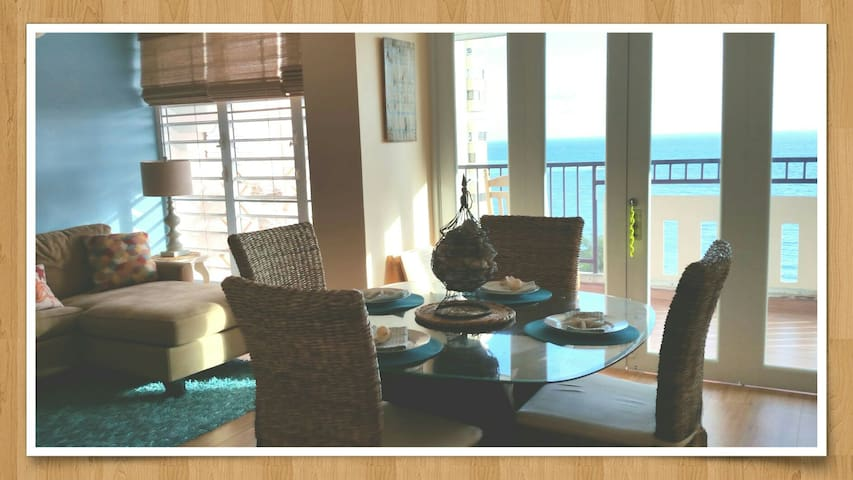 MILES OF BLUE - VIEW OF A LIFETIME! - Luquillo - Apartment
