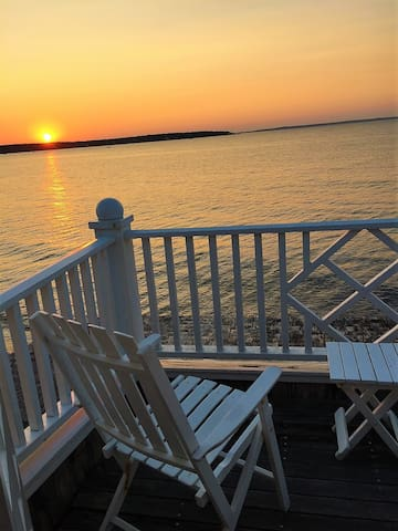 Fabulous Sunsets on your porch!