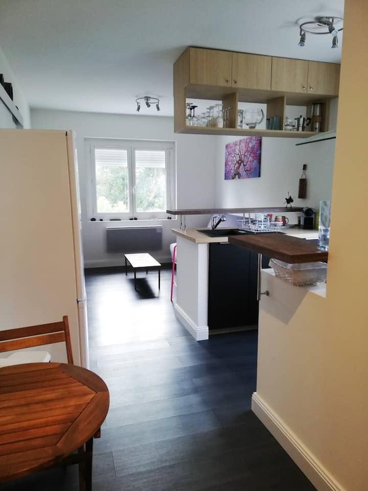 Appartement T2 meublé au calme