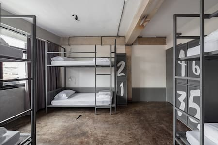 6 Bed Mixed Dorm with your private huge locker.