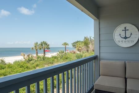 Beachfront condo as seen on HGTV!
