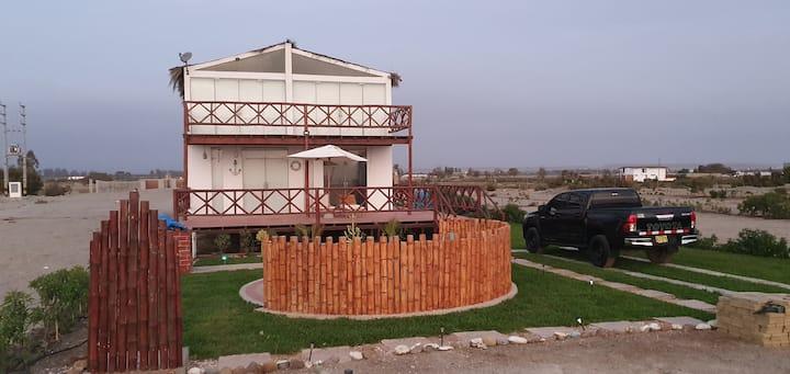 Linda casa frente al mar en Chincha