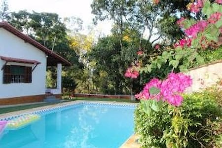 """The English Cottage""private gardens,pool,sauna - Itatiaia"