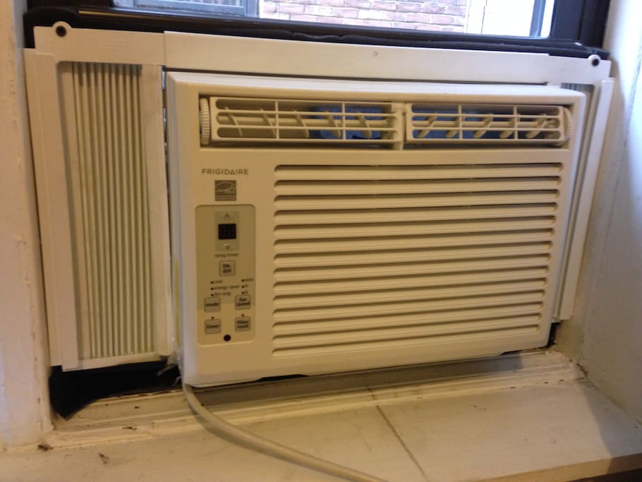 New air-conditioner just installed!