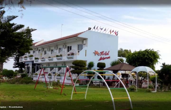 Double Garden View-Asterias Bay Hotel-Theologos