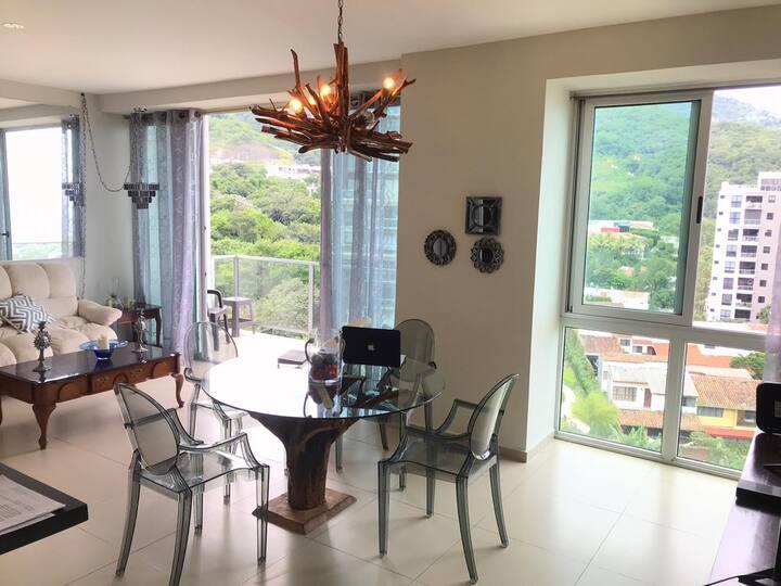 Apartamento de lujo a tu alcance en Torre Spazio.