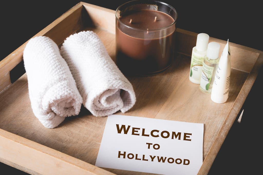 Welcome to Hollywood.