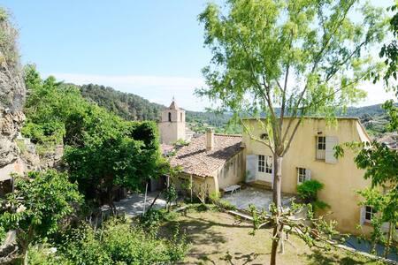Grande Maison provençale avec un grand jardin - Barjols
