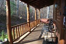 Main Floor Front Porch (wrap around)