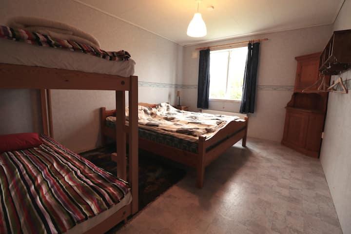 Stor lägenhet vid Kungsbergets skidanläggning