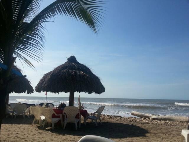 Habitación cerca de la playa en Puerto Colombia