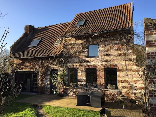 Maison de campagne à 2 pas de Lille - Péronne-en-Mélantois - House