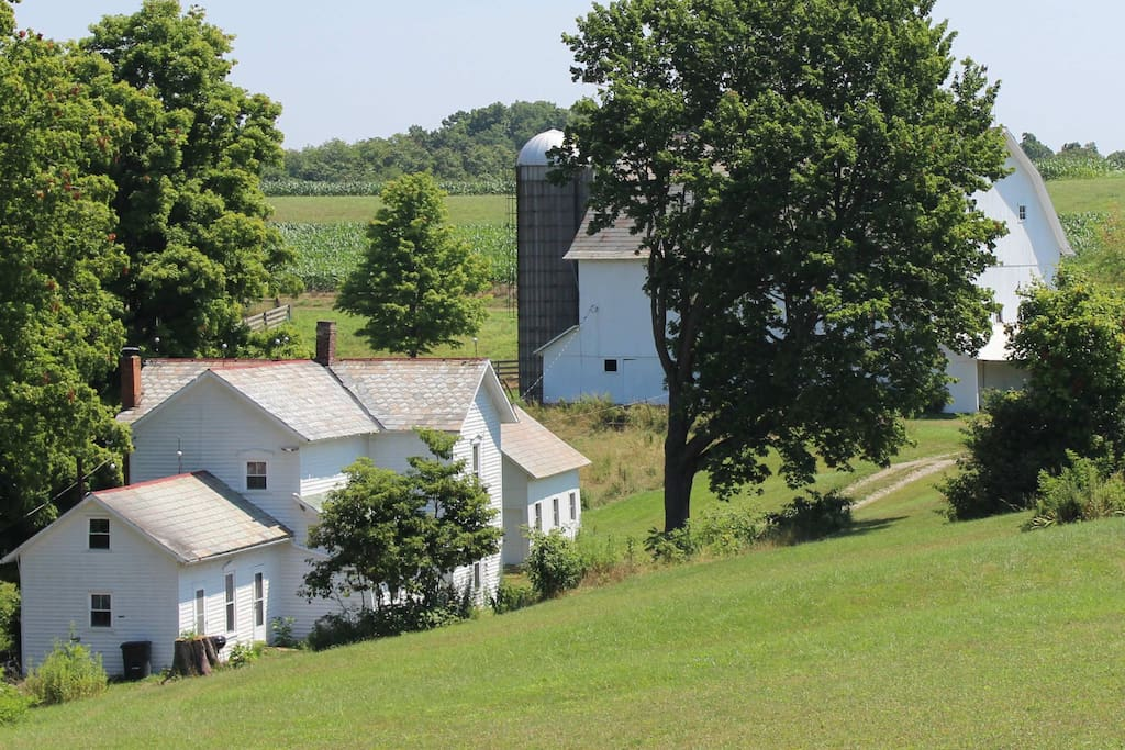 McKee Farmhouse was built in the mid 1800's