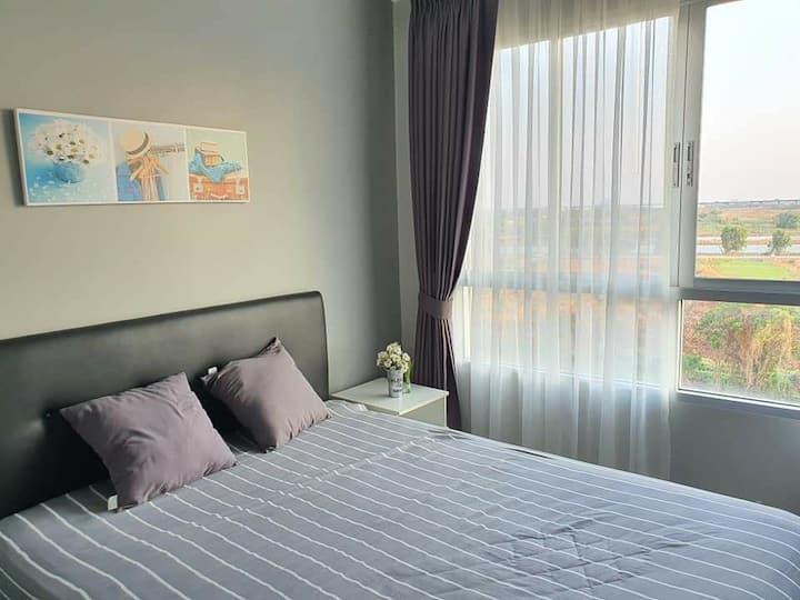 Dcondo campus resort bangna  house for you