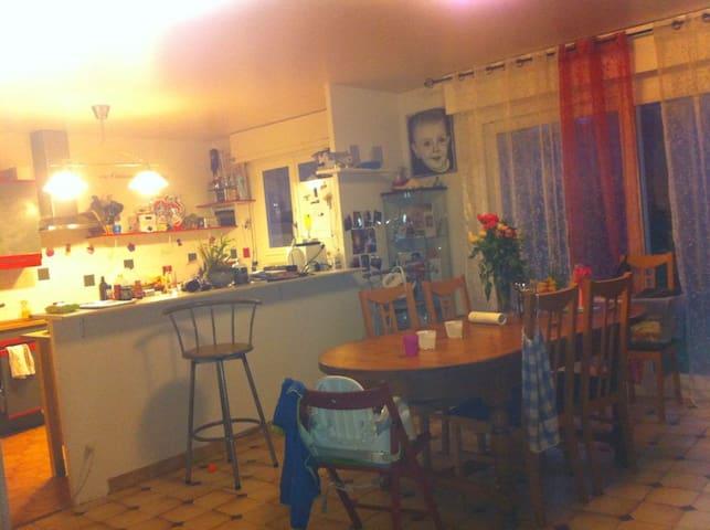 maison familiale à 45 min de Paris - Limay