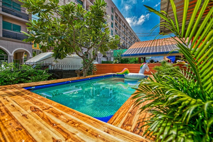 Downtown Private Pool Villa near Walking Street