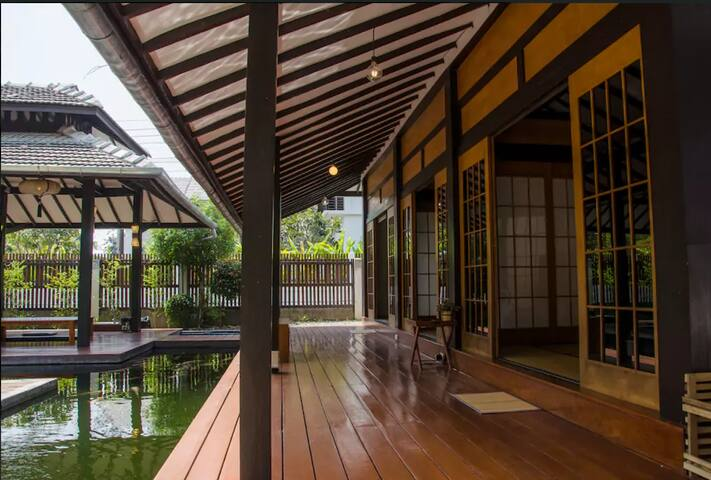 Japanese Style GardenVilla & Free pick up airport - Tambon San Kamphaeng