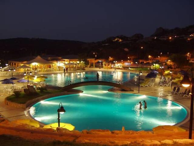 Rena Majore Bilocale 3 in residence con piscina - Aglientu