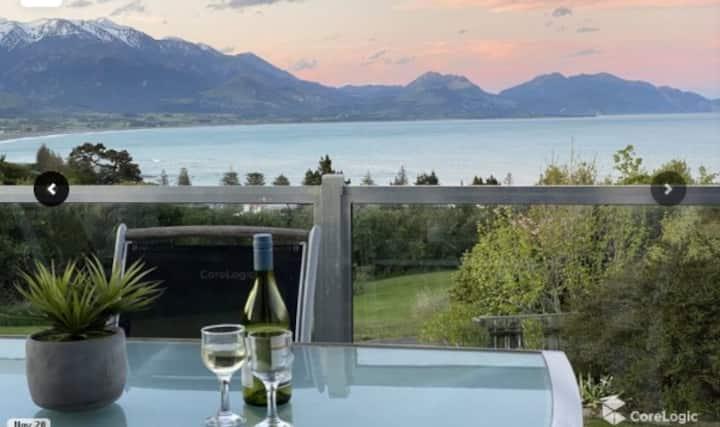 BellBird Scenic Retreat - views of alps and ocean