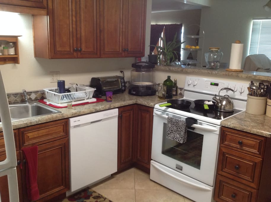 Dishwasher and convection oven