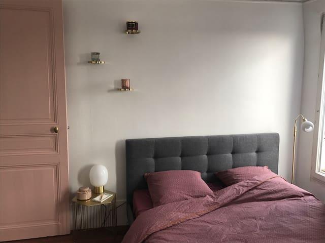 Petit appartement de charme à Paris - Nation