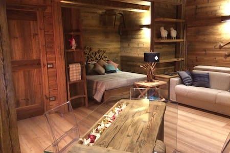 La magia del legno ad Alagna - Alagna Valsesia - Apartament