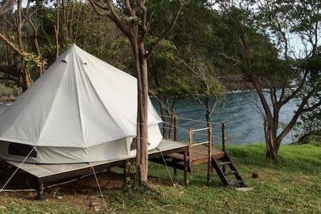 Cliff top tent on wooden platform - Ko Chang - Tent