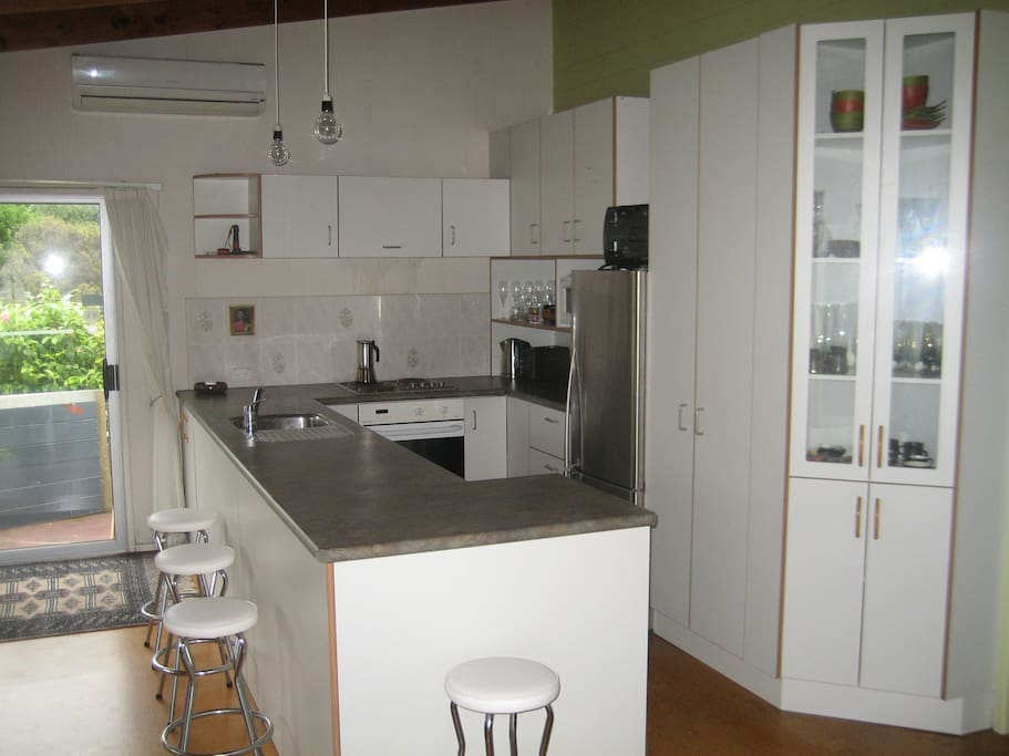 Large functional kitchen