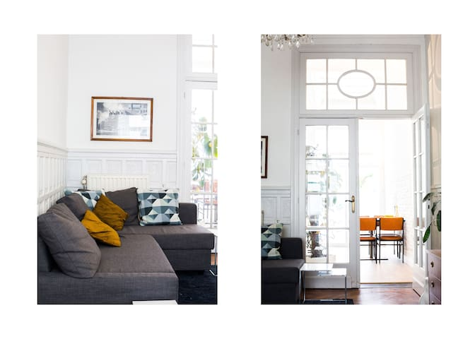 AntwerpCity vintage+urban flat near CentrStation