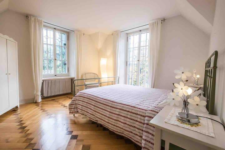 1st bedroom upper floor with one double bed 160x200 cm