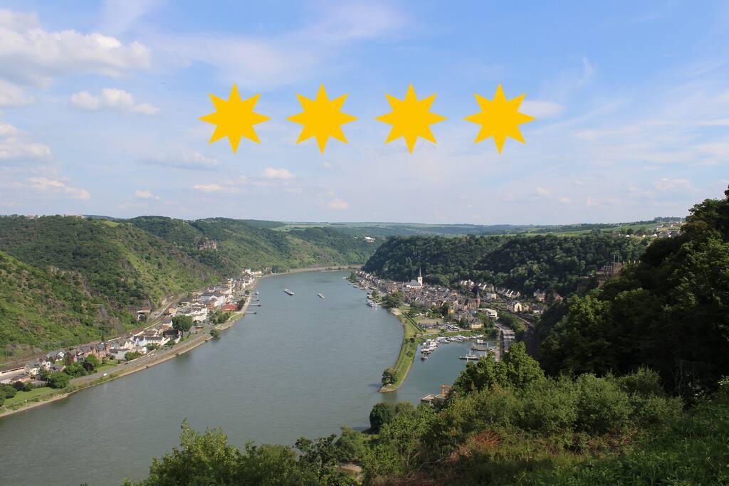 Mittelrheintal St.Goarshausen-St.Goar