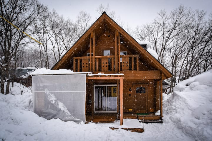 SANNO Log House near Echo Land HAKUBA