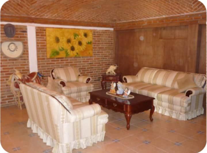Excelente y tranquila casa en Tequisquiapan
