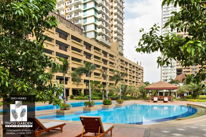A Home Just At the Back of Makati (Tivoli Garden) - Mandaluyong - Apto. en complejo residencial