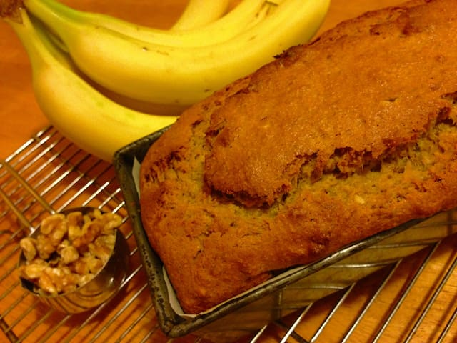When available, there's home made vegan banana nut bread when you check in...toast it for yummy crunch! Ask for this added luxury. $5/mini loaf.