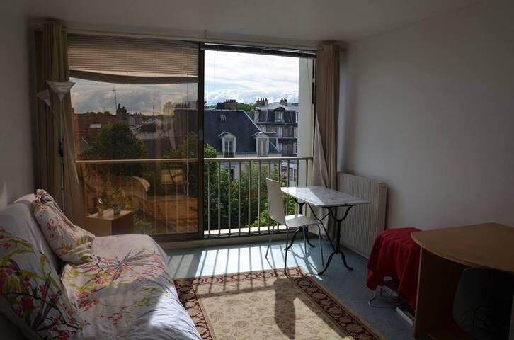 Studio meublé 27m², hypercentre Reims - Reims - Wohnung