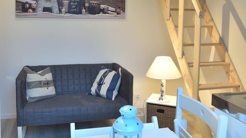 Studio en Mezzanine proche mer et centre ville - La Rochelle - Appartement
