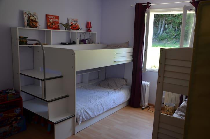 Chambre 3 (4 lits)
