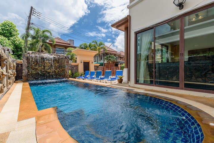 Amazing Patong private pool Villa great location