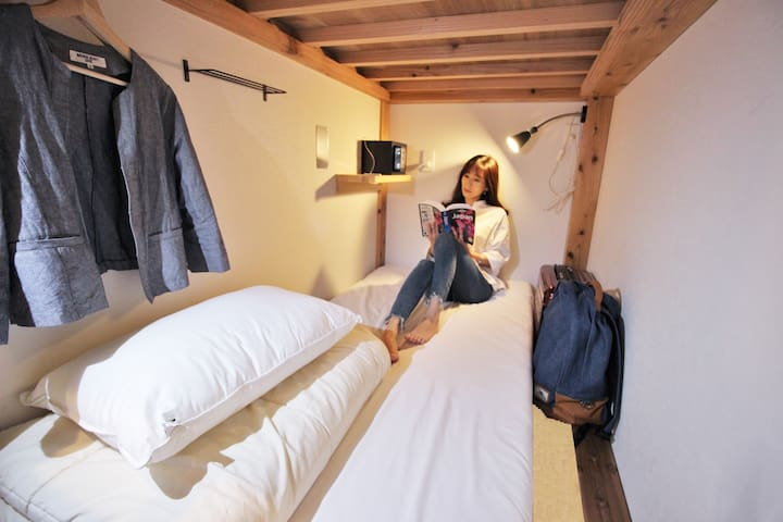 Cozy hostel female dorm, near Hakata & free wifi 2