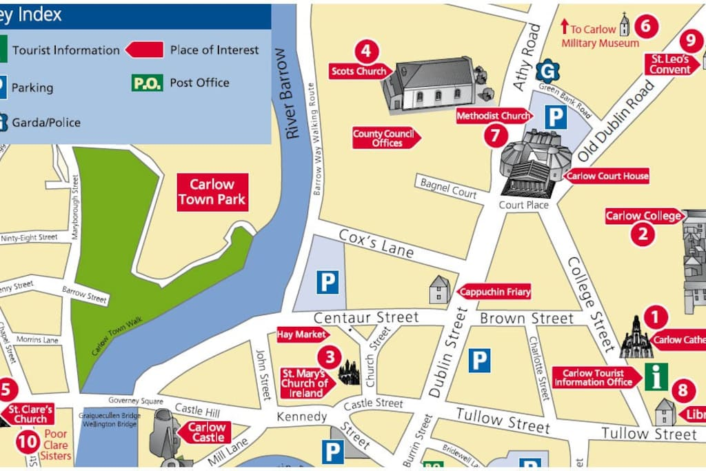 carlow town map2