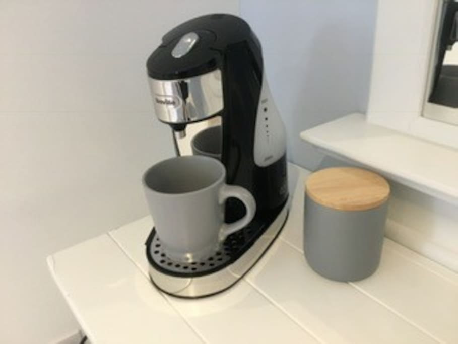 Tea and Coffee making facilities in room